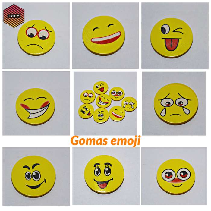 Gomas de borrar emoji / emoticon
