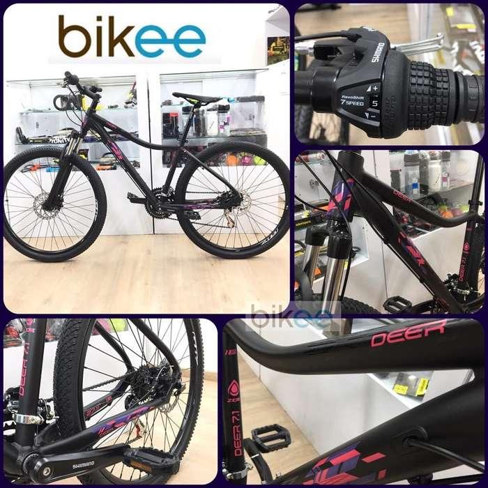 Bicicleta Gw MUJER Deer 27.5 Nueva !!