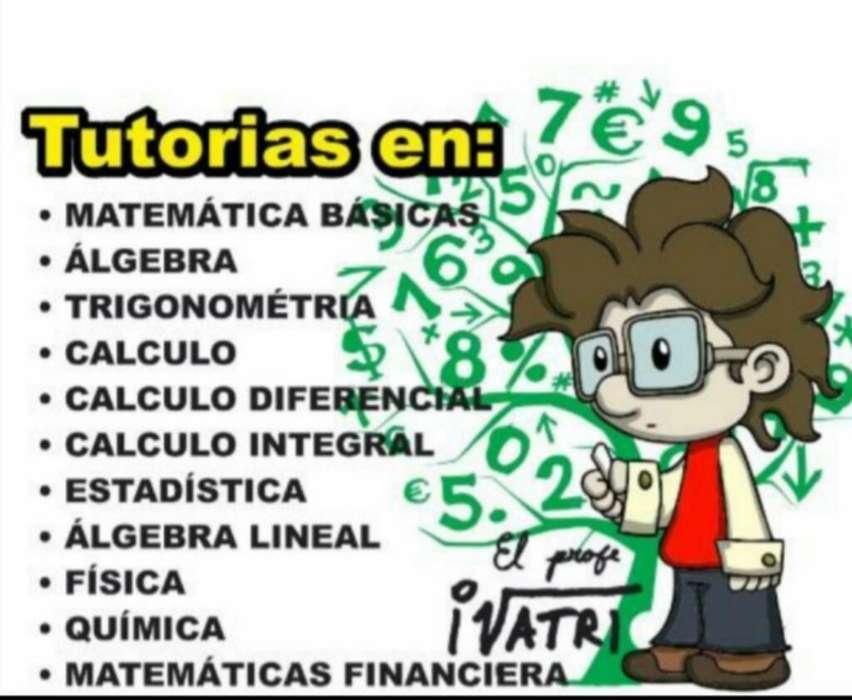 Asesorias Matematicas,fisica,quimica