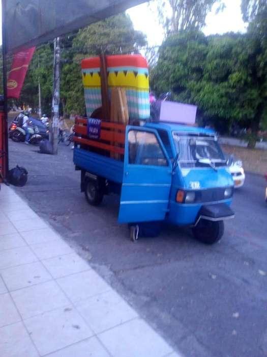 Transporte de Carromoto cali