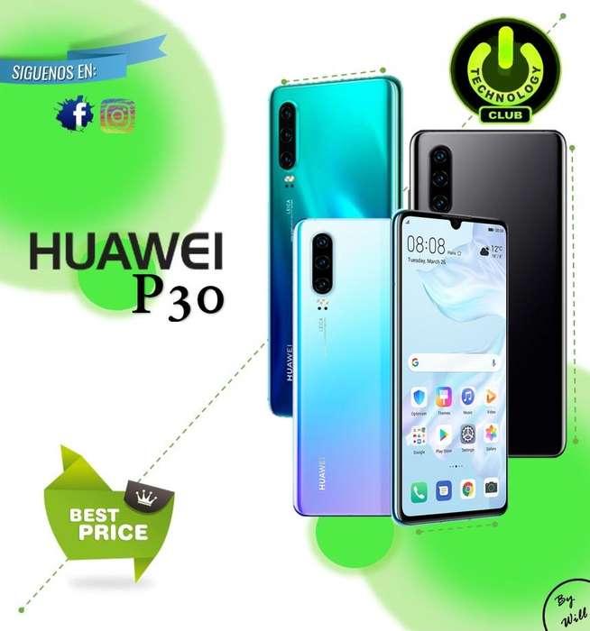 Huawei P30 Triple <strong>camara</strong> Leica Libres / Tienda física Centro de Trujillo / Celulares sellados Garantia 12 Meses