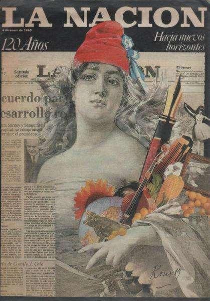 Revista La Nación 120º Aniversario 04/01/1990 Oportunidad¡¡¡