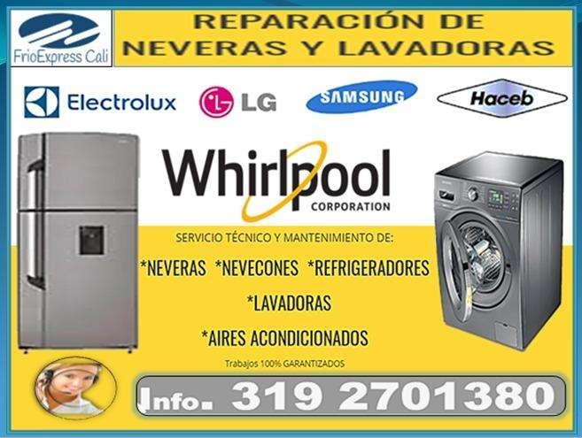 Expertos en Neveras y Lavadoras Frioexpress CM
