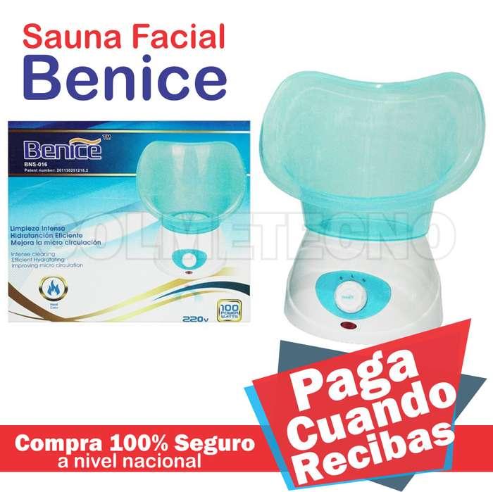 Sauna Facial Eliminador De Impurezas Benice