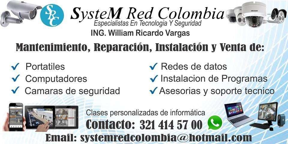 CÁMARAS DE SEGURIDAD CALI OFRECE SYSTEM RED SRC OFRECEMOS TAMBIÉN MANTENIMIENTO Y VENTA DE CÁMARAS DE SEGURIDAD