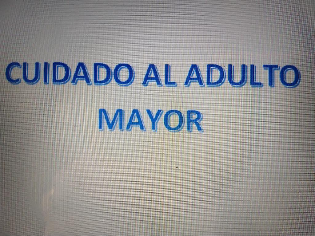 Cuidador Del Adulto Mayor
