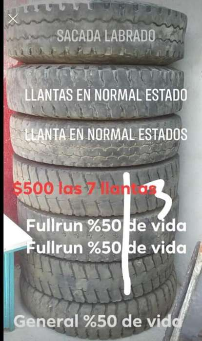 Llantas 12000 X 20