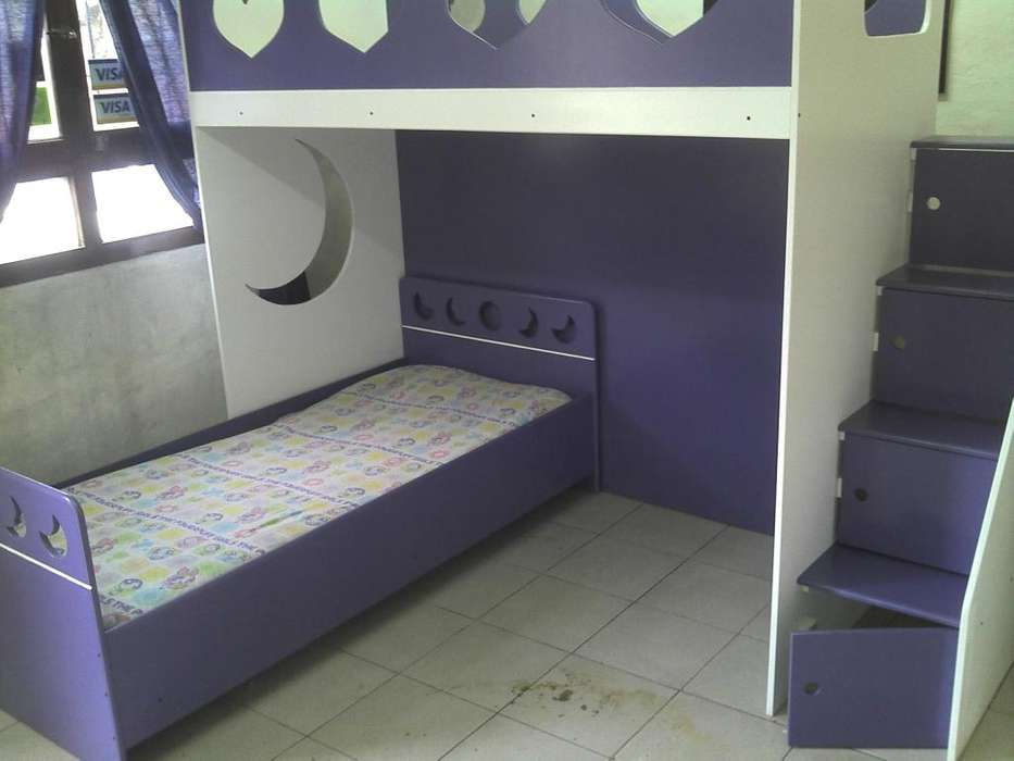 <strong>cama</strong> puente infantil