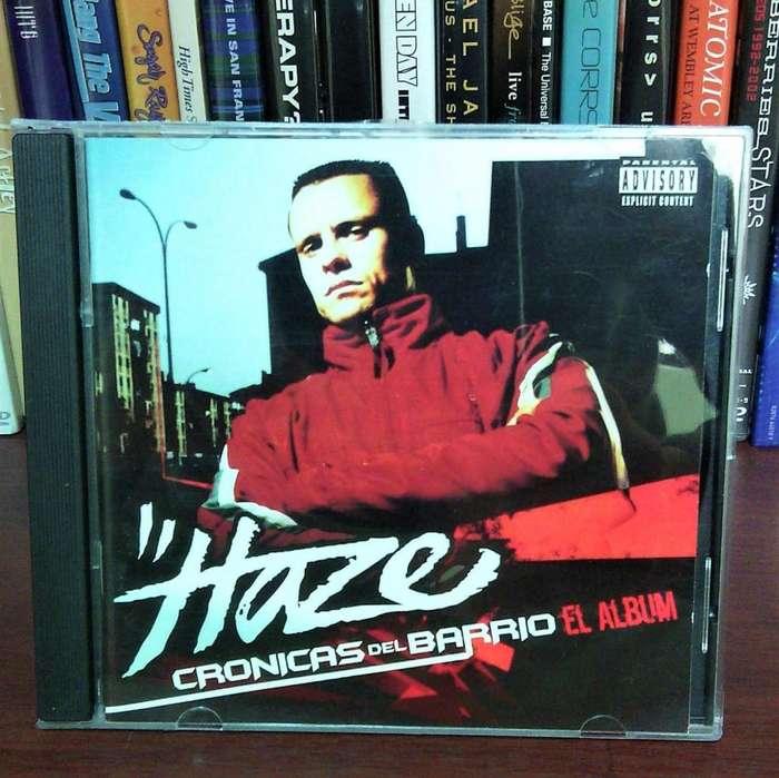 Haze / Cronicas del Barrio cd Rap