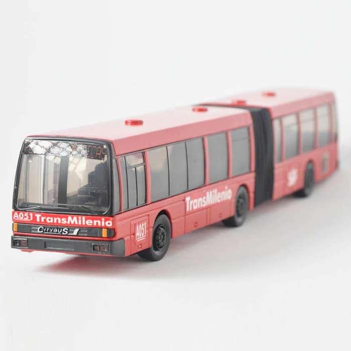 Transmilenio a escala - Buses a escala Ref 601