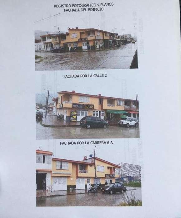 ACEPTO VENTA O PERMUTA <strong>edificio</strong> RENTANDO 5 LOCALES - 3 APARTAMENTOS. BIEN UBICADO