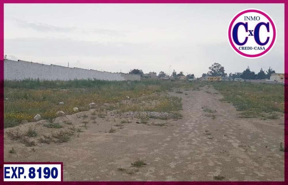 CXC VENTA DE TERRENO / CALDERON / NORTE DE QUITO / EXP.8190
