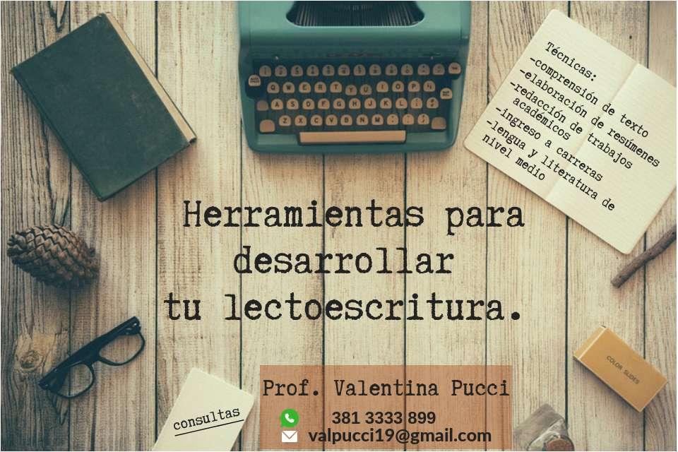 CLASES PARTICULARES DE LENGUA Y DE HERRAMIENTAS DE ESTUDIO
