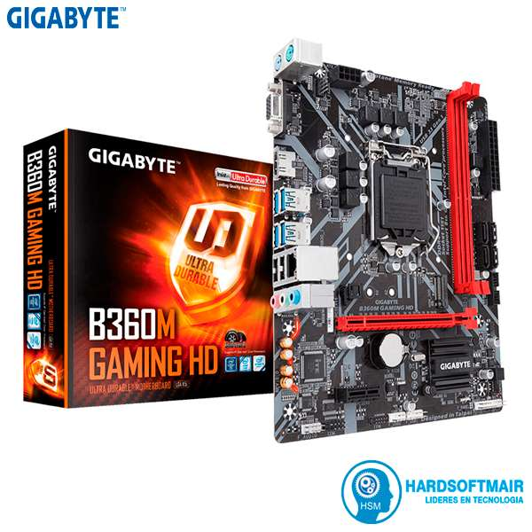 Placa Madre Gigabyte 360m Gaming Hd 8va Generacion