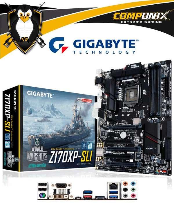 Motherboard Gigabyte Z170XP Sli DDR4 6ta Gen S1151 M.2 ATX