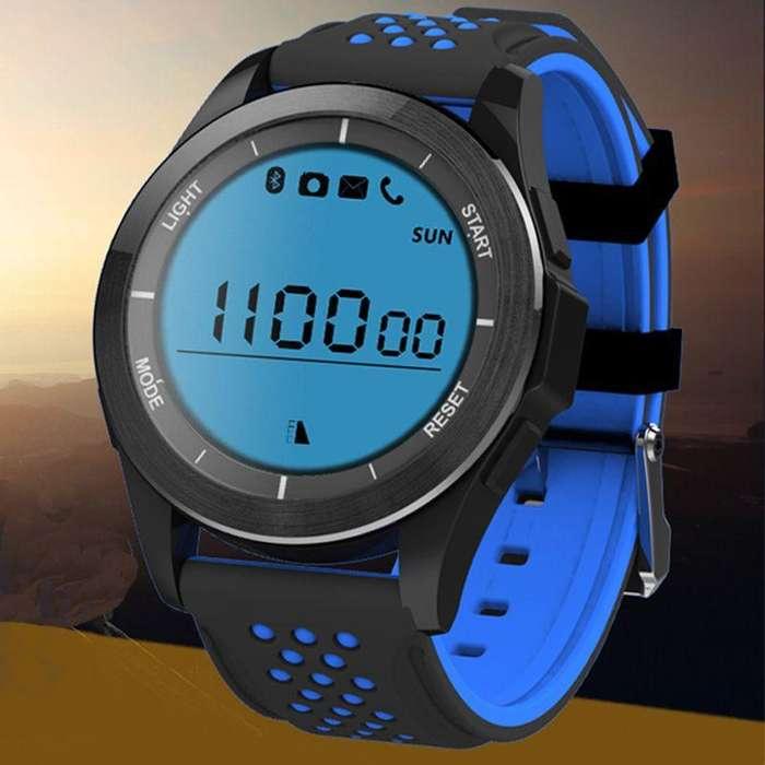 Reloj Smart F3 Agua Deportes Sensor Termometro Altimetro