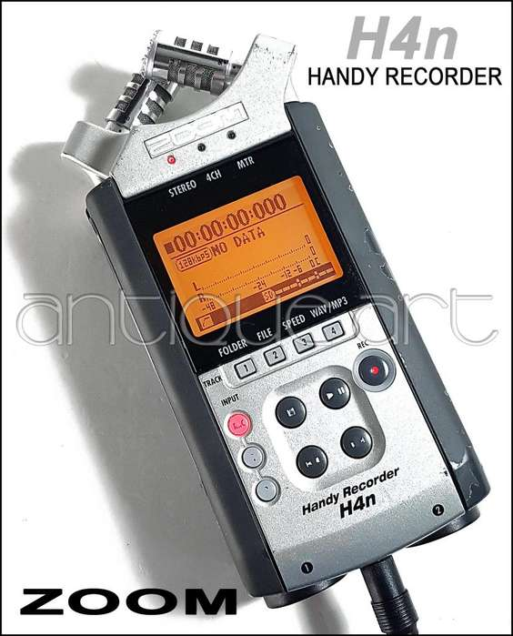 A64 Grabador Zoom H4n Wav Mp3 Musica Video Usado Oferta