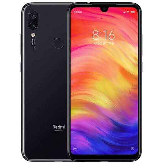 REDMI NOTE 7 4GB - 64GB