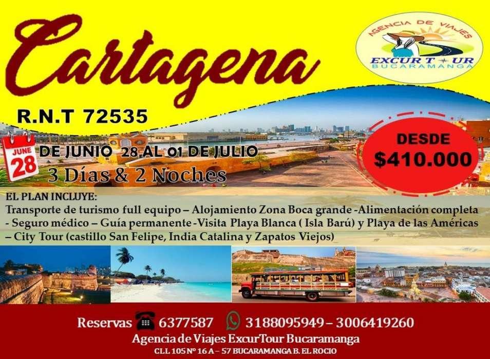 Tour Cartagena desde Bucaramanga