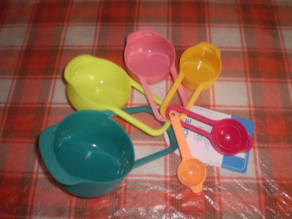 set de cucharas medidoras nuevas