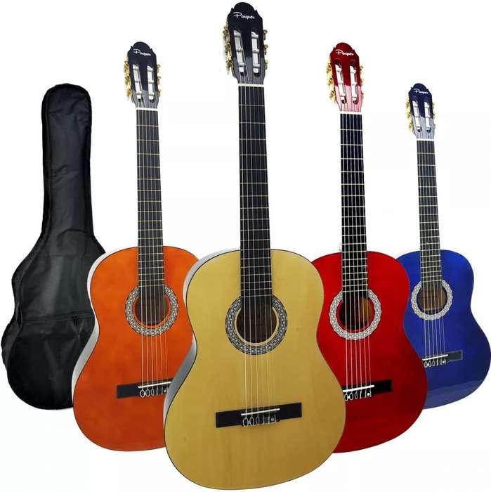 Guitarra Clásica Criolla Parquer con Funda Oferta