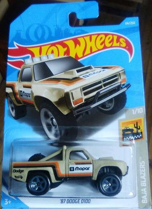 Hot Wheels '87 Dodge D100 Mopar