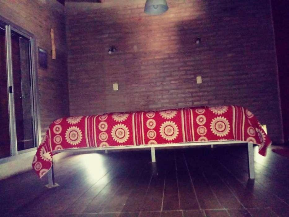 wr26 - Cabaña para 2 a 7 personas con pileta y cochera en La Calera