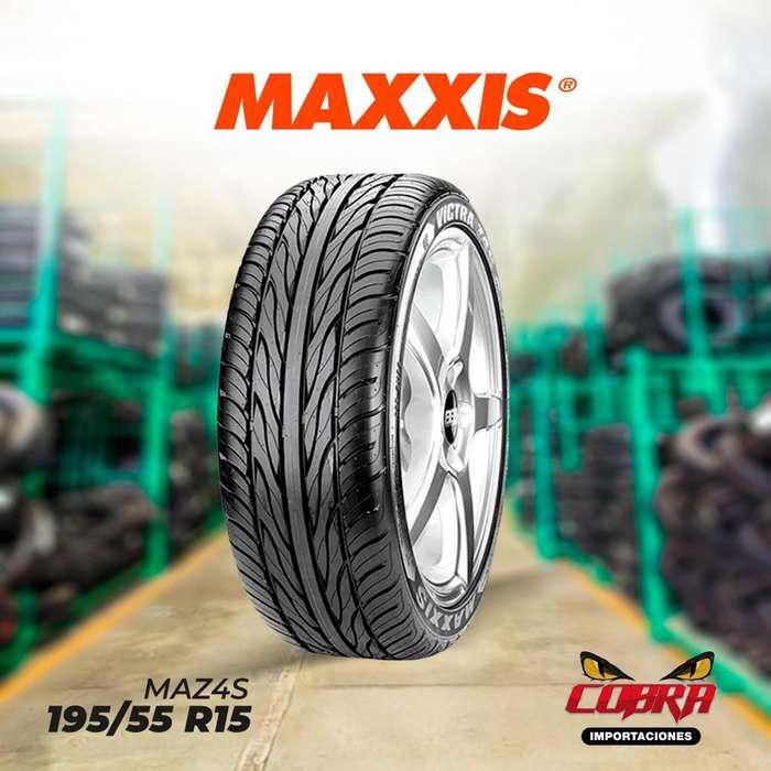<strong>llantas</strong> 195/55 R15 MAXXIS MAZ4