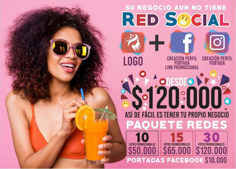 TU PRECIO IDEAL AQUÍ Publicidad, Avisos, Rompetraficos Redes Sociales, Web, Fan Page, Instagram Tarjetas, Pendones