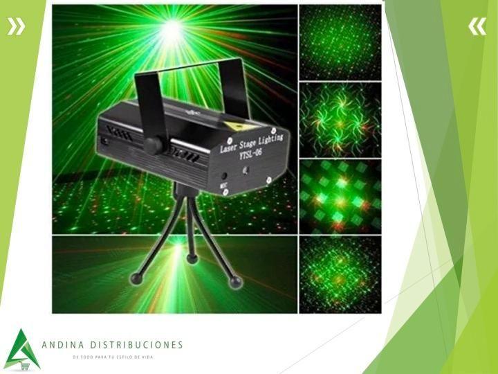 ff3926c5edb Proyector De Luces Láser Navideño Trípode Parlante Usb Control Remoto.  LOCALES EN ...