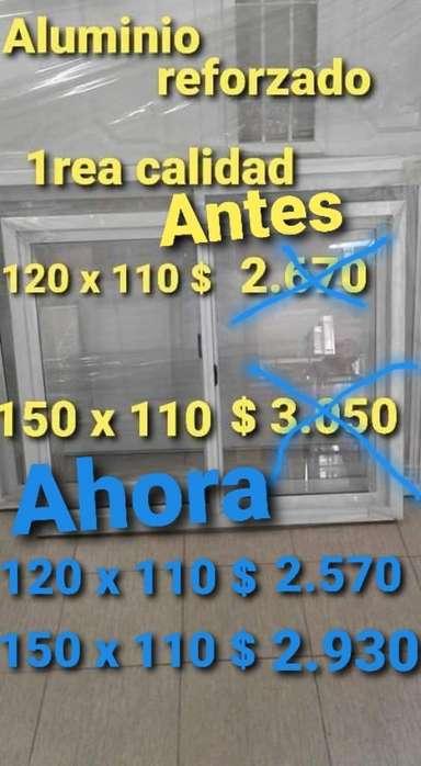 <strong>ventana</strong> Aluminio 120 X 110