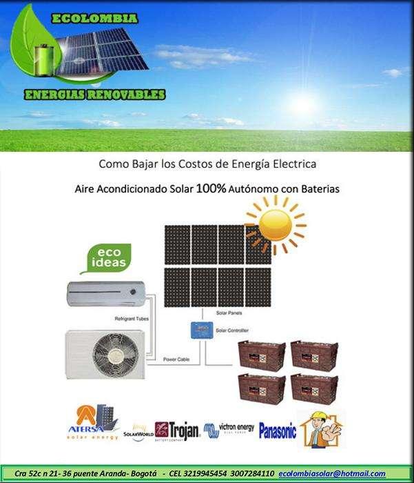 Are Acondicionado Inverter 100% Solar