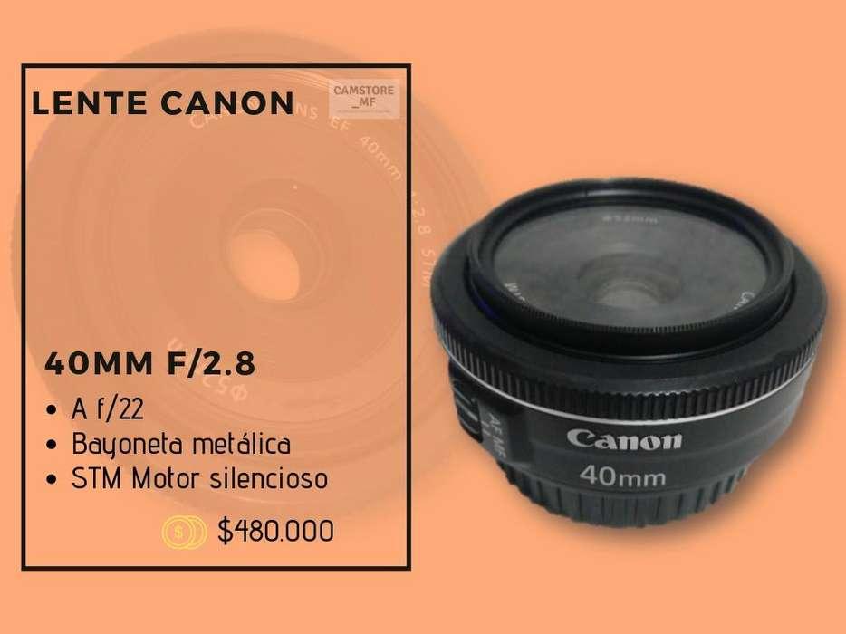 Lente Canon 40Mm F/2.8