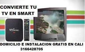 Tv box convierte tu televisor convencional en smart tv