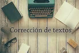corrección de textos, corrección de estilo y aplicación de normas