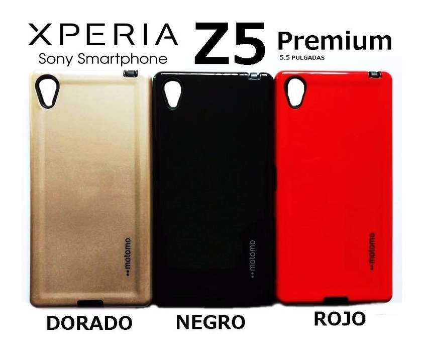 Funda Cover Vidrio Templado Sony Xperia Z5 Premium Rosario
