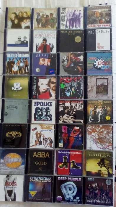 Coleccion CD,s Originales 80's Pop Rock Raggae y más.
