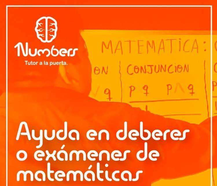 PROFESOR DE MATEMATICAS BRINDA CLASES, CURSOS Y AYUDA EN DEBERES Y TUS EXAMENES