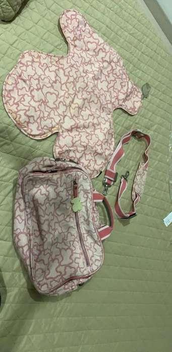 Vendo pañalera de Tous Original Como Nue