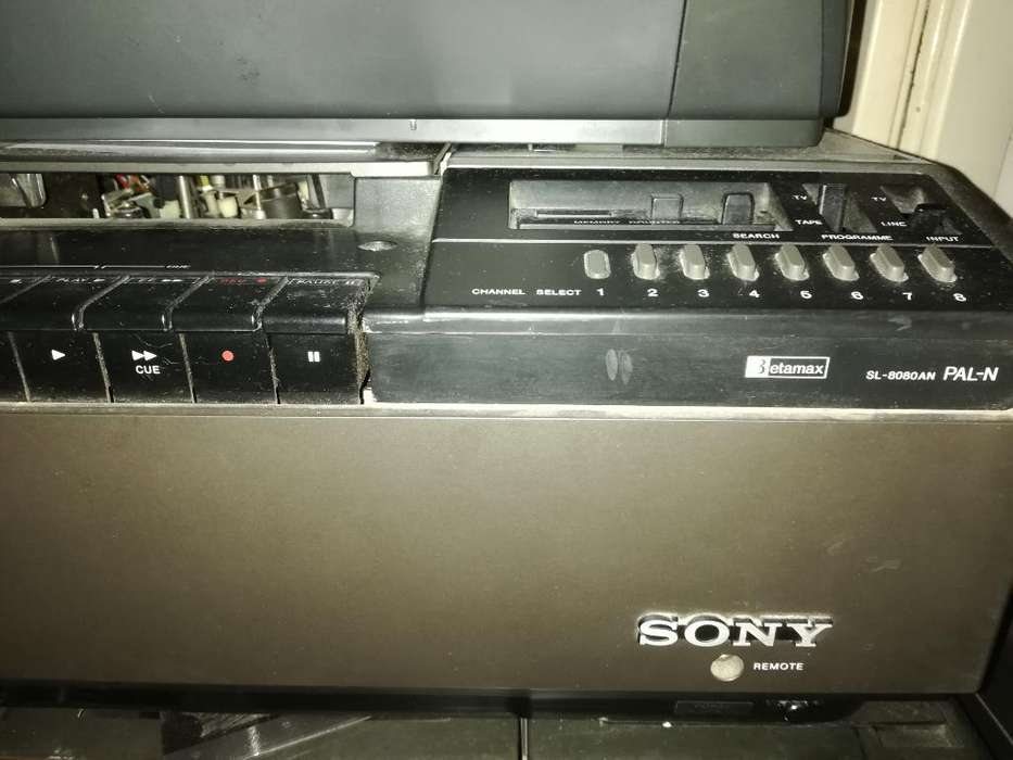2 Cassetteras Betamax Sony