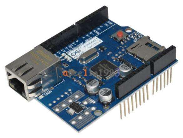 Shield Ethernet Wiznet W5100 para Arduin