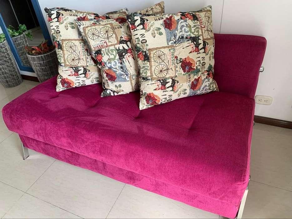 Vendo Sofa Cama Acompañado de <strong>silla</strong> , Pu