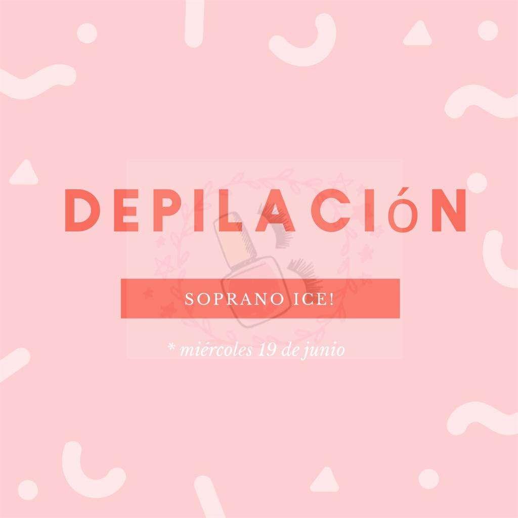 Depilacion Soprano Ice