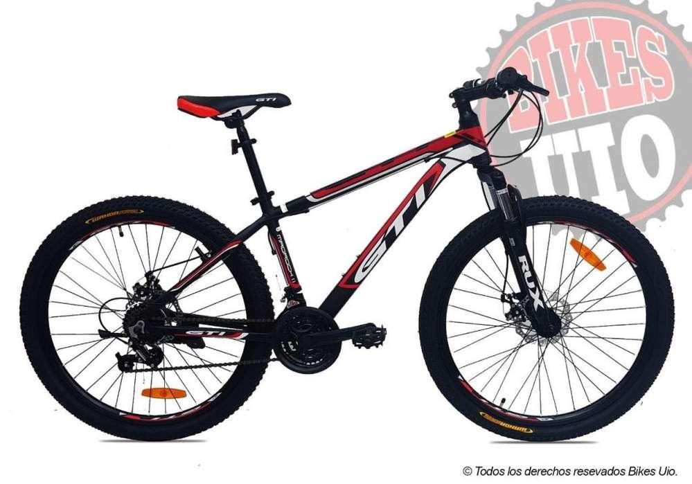 BICICLETA 26 GTI MADROCK 2 ALUMINIO 21V MODELO 2020