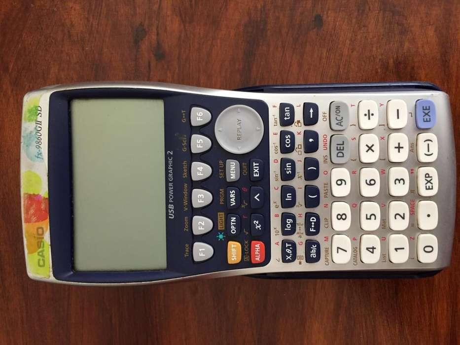 <strong>calculadora</strong> fx-9860GII SD