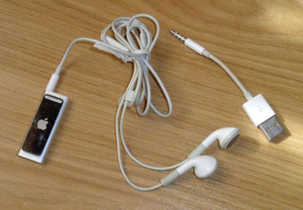 iPod Shuffle 4 GB muy bueno