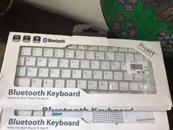 Teclados Bluetooh para iPad iPhone O Mac