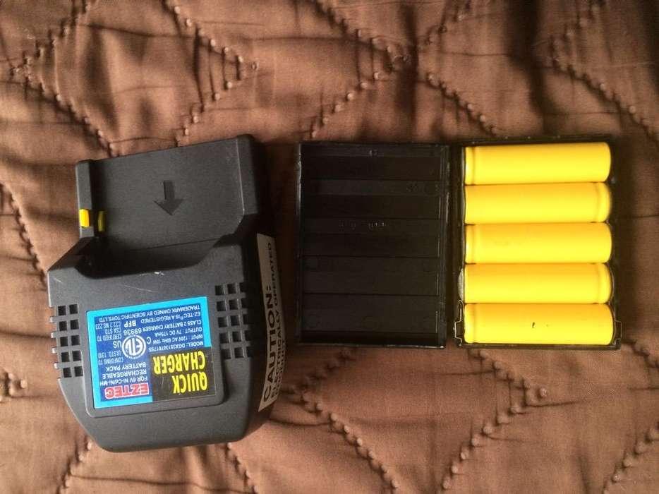 <strong>cargador</strong> de Baterias Recargables