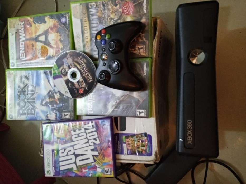 Xbox 360 Slim 250gb Disco Duro