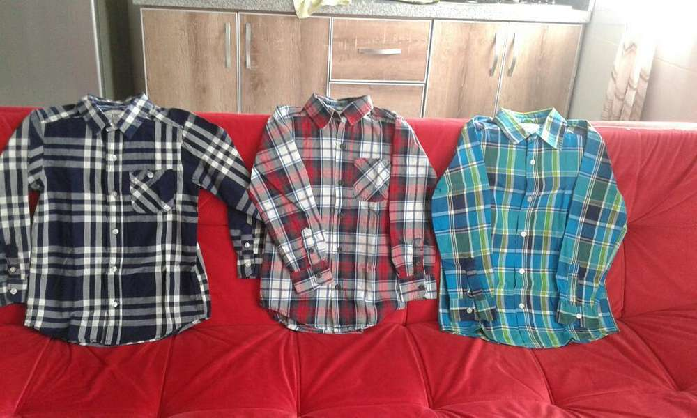 Vendo Camisas para Niño Marca Plase T 2